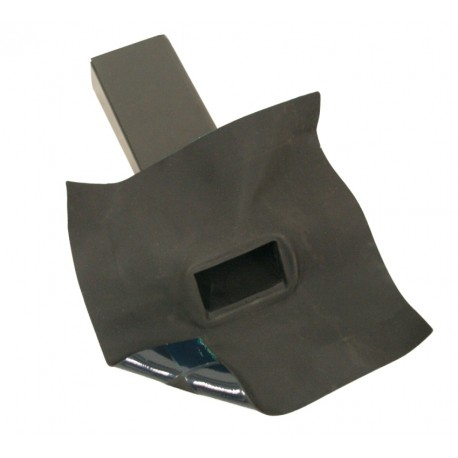 Hertalan EPDM Easy Weld Scupper Outlet, 60mm x 80mm