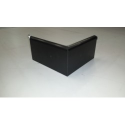 Single Ply Roofing Black Drip Trim Corner