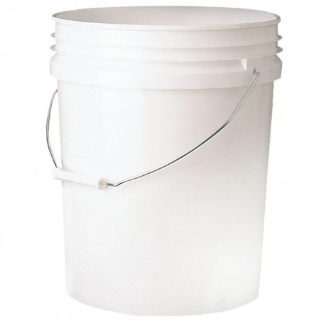 White Mixing Bucket 5L